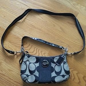694371121 Coach and Four Bags | Front Flap Leather Crossbody Bag | Poshmark